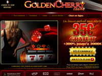 Le casino en ligne Golden Cherry